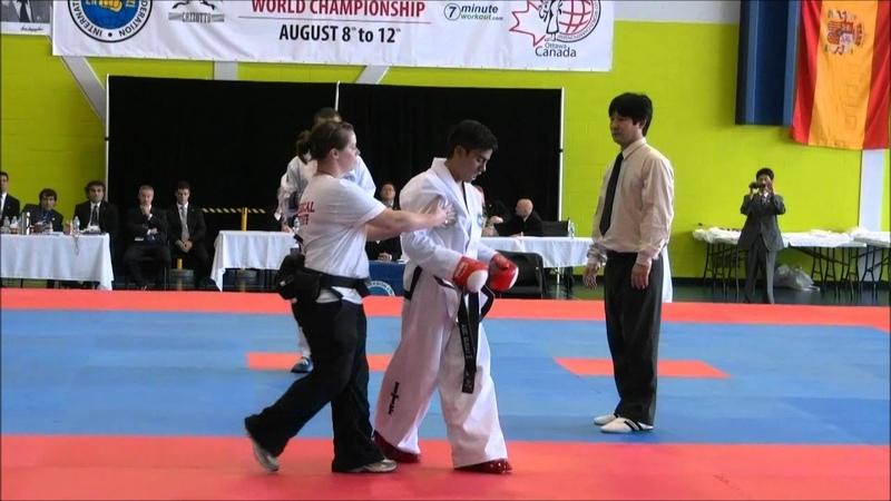 COMPETENCIA AXEL VARGAS, final lucha hasta 58kg, Canadá 2012