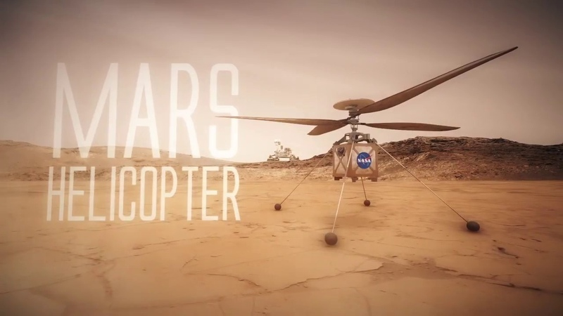 NASA Mars Helicopter Technology Demonstration