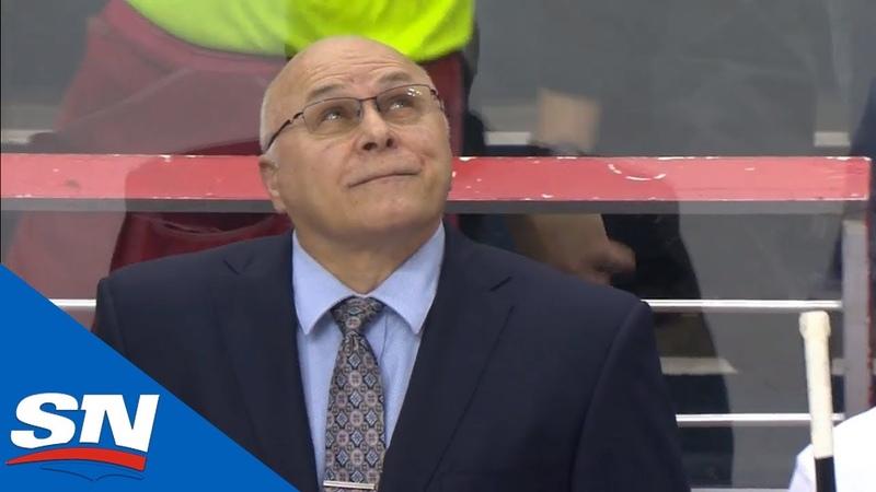 Barry Trotz Gets Standing Ovation From Capitals Fans In Return To Washington\ Хайповый Спорт Хоккей NHL НХЛ nhlnews capitals