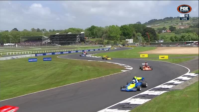 NZ Formula 5000 201819. Этап 1 - Окленд. Третья гонка