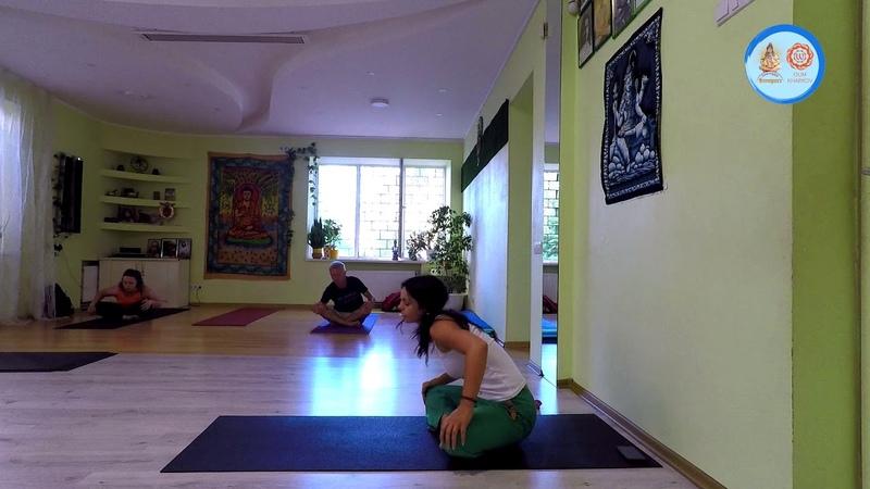Практика хатха йоги Ольга Назлуян