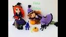 Como tejer manos en crochet muñeca Brujita amigurumis by Petus (English subtitles)