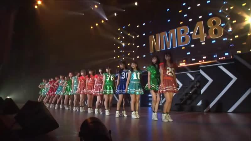 NMB48 Team BII - Bokura no Eureka @ 180830 NMB48 LIVE IN SUMMER 2018 (Hiroshima)