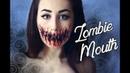 No Speak Zombie Mouth Makeup Tutorial By Margo