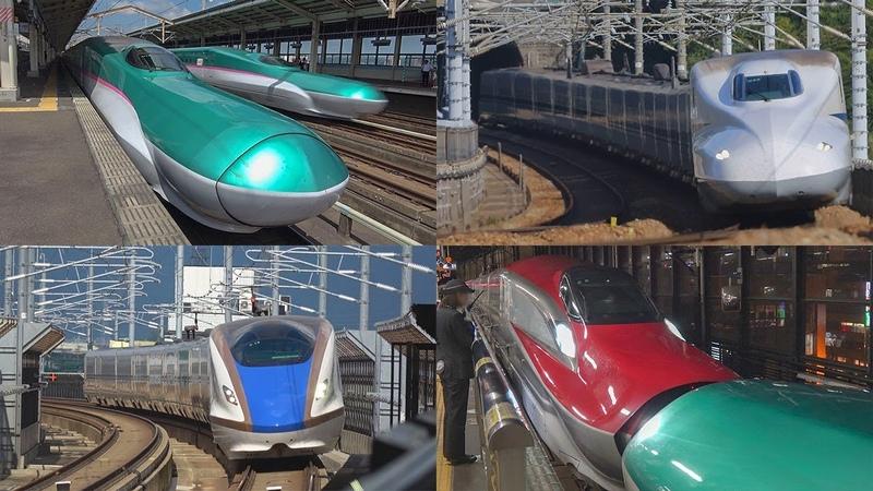全国の新幹線を38分で見る シンカンセン 2018 Super-Express Shinkansen