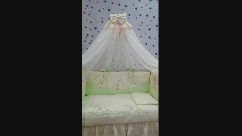 Комплект в кроватку Дюймовочка