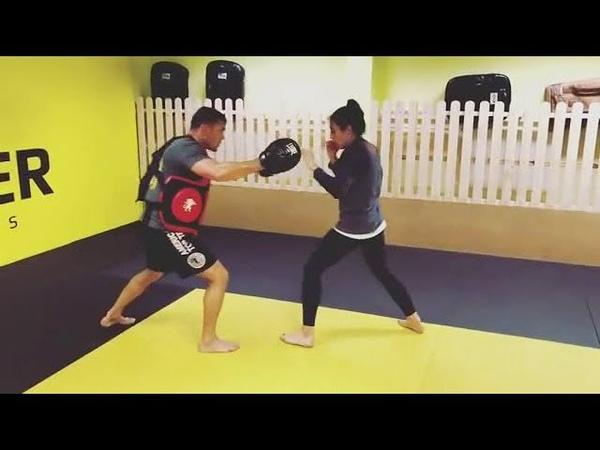 Joanna Jedrzejczyk Training 29 09 18