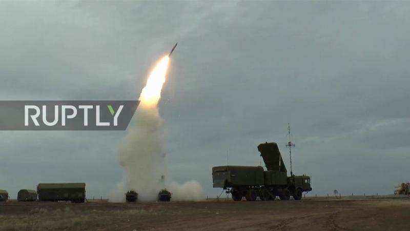 Триумф под Астраханью ЗРС С 400 успешно поразили предполагаемого противника