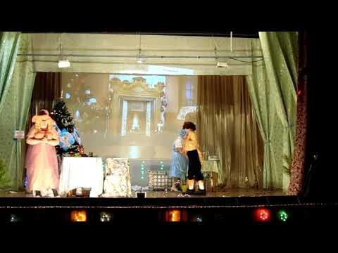 1 часть Новогодняя ХРЮК ОПЕРА Хрюмео и Хрюльетта ДК п Боровой 30 12 2018