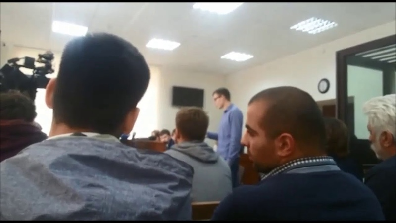 Дело очкарика: последнее слово Влада Рябухина в суде