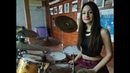 DIRE STRAITS MONEY FOR NOTHING DRUM COVER by CHIARA COTUGNO