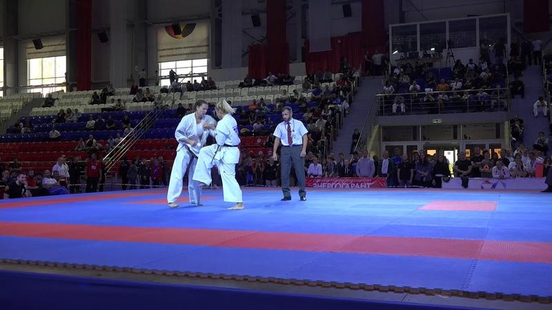 Лучший женский бой 2018 года. Ксения Засорина - Юлия Григорьева (Чемпионат России 2018)