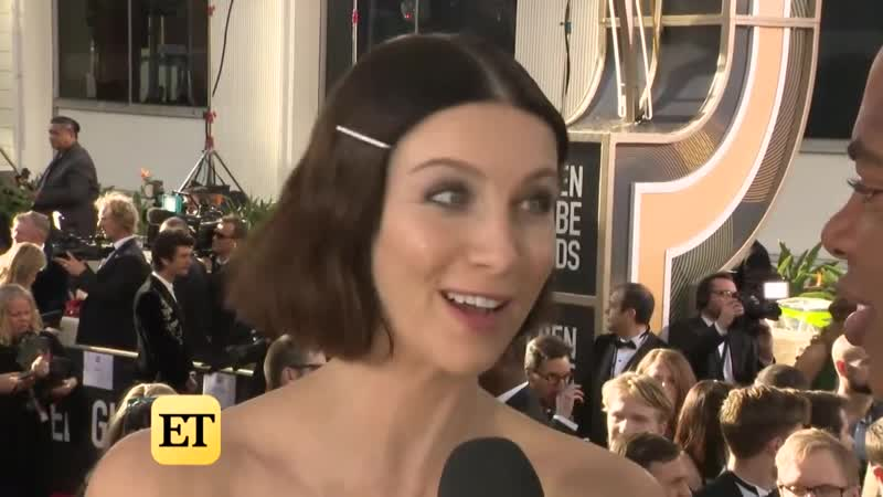 Caitriona Balfe Teases a Lot of Rescues on Outlander Golden Globes 2019 Red Carpet Interview