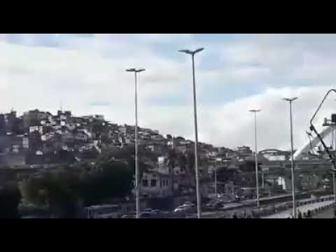 FÚRIA JOVEM BOTANDO A JOVEM FLA PRA CORRER NA AV BRASIL(PARQUE UNIAO)
