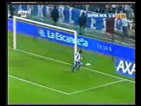 Депортиво 2-0 Реал Мадрид. Чемпионат Испании 2003-2004. 35 тур