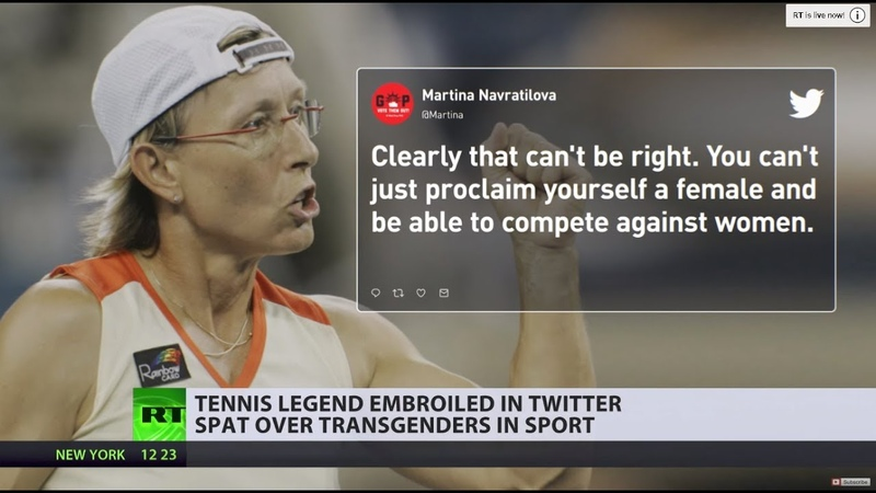 'Having a penis and competing as a woman is not fair': Tennis legend inflames transgender fury