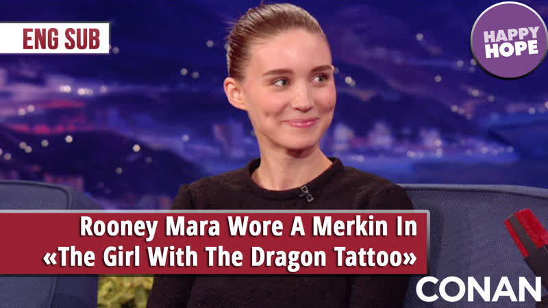 Rooney Mara Wore A Merkin In The Girl With The Dragon Tattoo [eng sub]