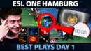Best Plays ESL One Hamburg 2018 Group Stage - Day 1