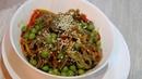 Обед • Вок из гречневой лапши с грибами
