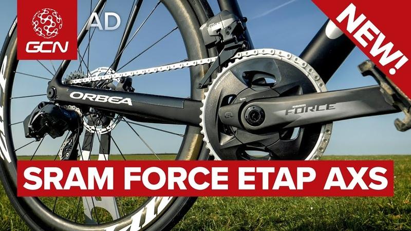 New Tech! SRAM Force eTap AXS - Detailed Demoed
