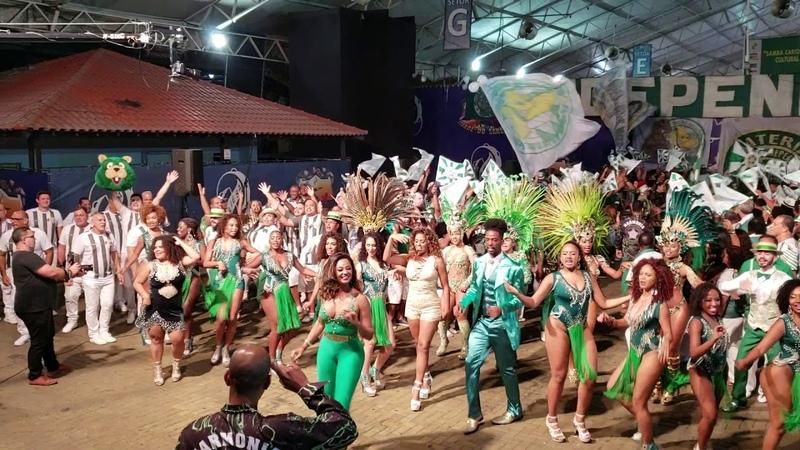 Mocidade 2019 gravação do coro para o CD do Grupo Especial