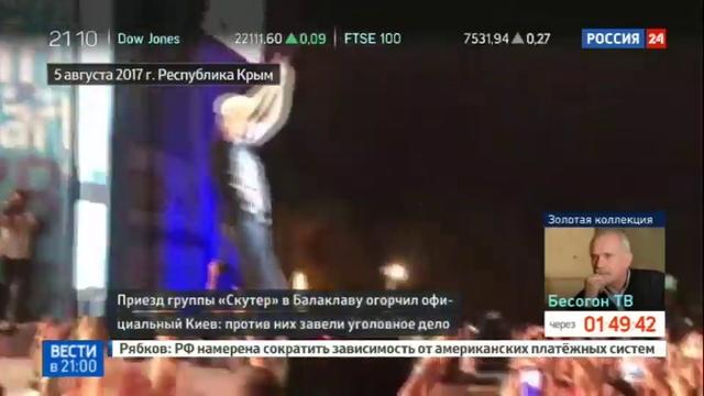Новости на Россия 24 • Немецкий канал ответил Украине на призыв отстранить от эфира лидера Scooter