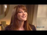 CNBC Meets Carla Bruni Sarkozy, part one