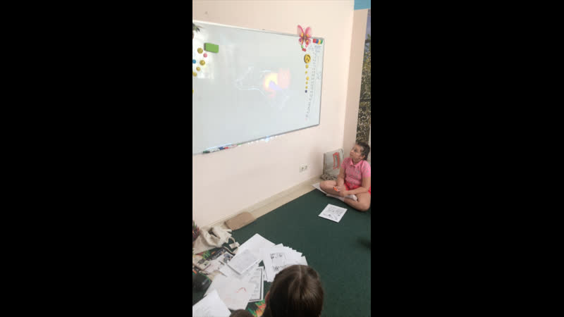 Работа с видео на летних интенсивах