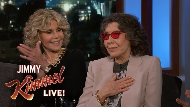Lily Tomlin Jane Fonda on Their Friendship, Porno Movies Richard Pryor
