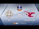 NiP vs mousesports, train, ECS Season 6 Europe