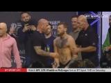 ХАБИБ НУРМАГОМЕДОВ vs КОНОР МАКГРЕГОР: битва взглядов перед боем UFC 229