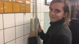 Emma Watson Hides Books Around the New York City Subway Vanity Fair