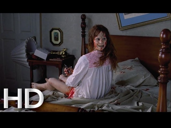 The Exorcist (1973) - Turning Head Scene HD | Strange