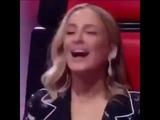 Claudia Leitte assediando participante do The Voice