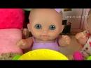 108MamaTV - YouTube Kids Куклы Пупсики Кормим Полезные Овощи Яйца Сюрпризы Играем Пылесос Игрушка
