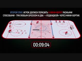 Мастер-шоу КХЛ. Конкурс 3. Эстафета мастерства