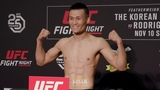 UFC Denver Weigh-Ins Korean Zombie, Yair Rodriguez Make Weight - MMA Fighting