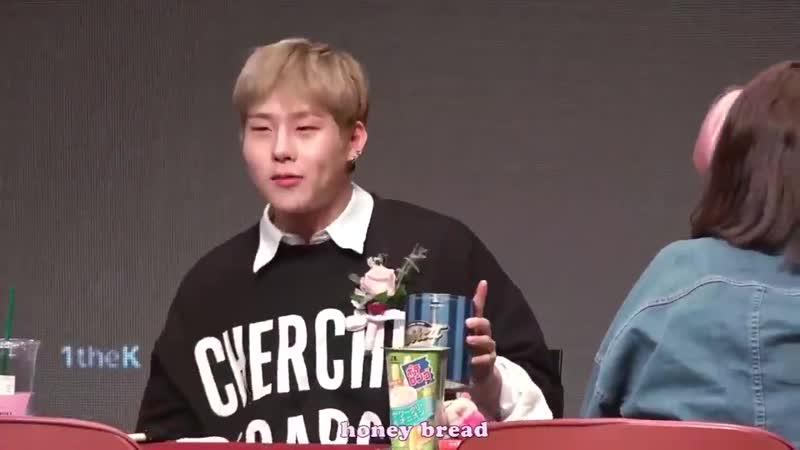 [VK][180513] MONSTA X fancam (Jooheon focus) @ Yongsan fansign