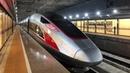 217 mph China to Hong Kong High Speed Rail Train - 4K uncut / Путешествие на сверхскоростном поезде от Китайской Народной Республики до Гонг-Конга