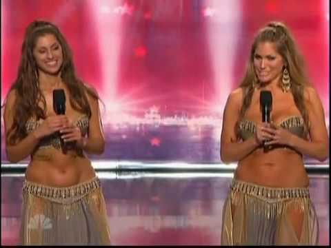 The Belly Dancing Duo America's Got Talent 2010 Kaya Sadie