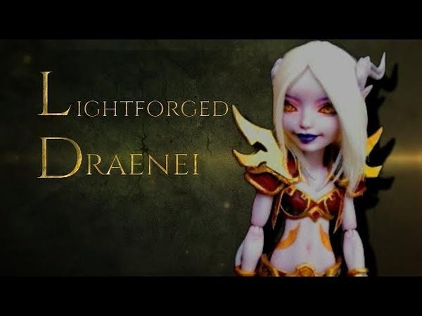 Lightforged Draenei WOW VDO game collab, How to make doll armor