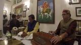 Вокальный концерт индийской классической музыки - Варанаси, январь 2019 г.
