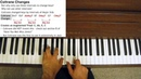 Jazz Piano Tutorial - Coltrane Changes Explained