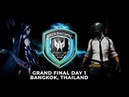 PUBG ACER PREDATOR LEAGUE MAIN EVENT BANGKOK DAY 1