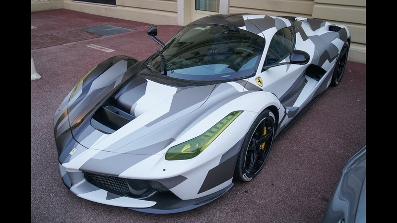 BEST of SUPERCARS Monaco Vol 28 - LaFerrari, Lamborghini Urus, McLaren 570