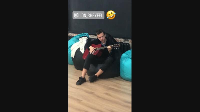 Невозмутимый Лев и гитара