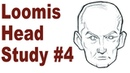 Sketching a Simplified Male Head - Andrew Loomis Drawing Study 4