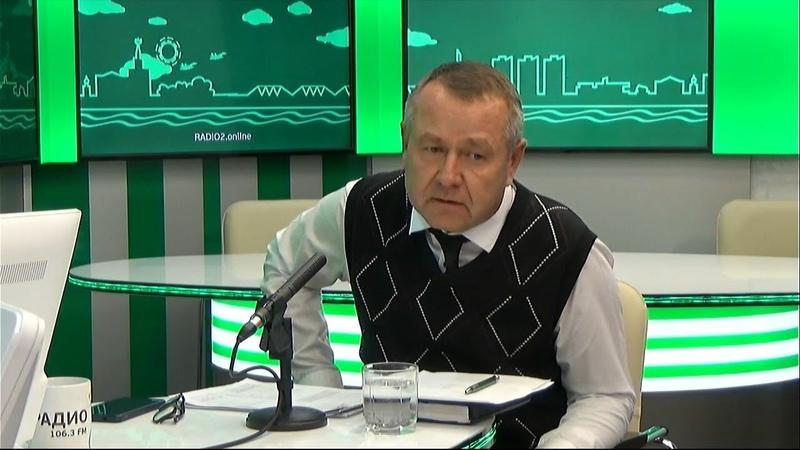 Гость на Радио 2 Сергей Бровко начальник Управления дорожной деятельности администрации города