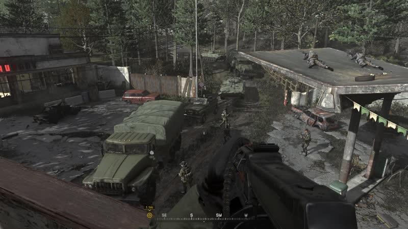 Call of Duty Modern Warfare Remastered.Зов Долга.Прохождение часть 16.Грехи отцов.