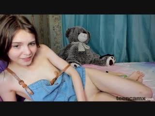 Kalisa Pearl - Petite teen cutie from east Europe small pussy [throat solo dildo